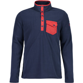Maloja SeverinM. Longsleeve Multisport Jersey Heren, red poppy